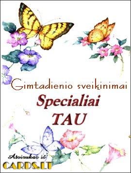 Specialiai TAU