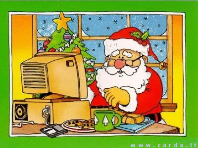 Santa skaito e-laiškus